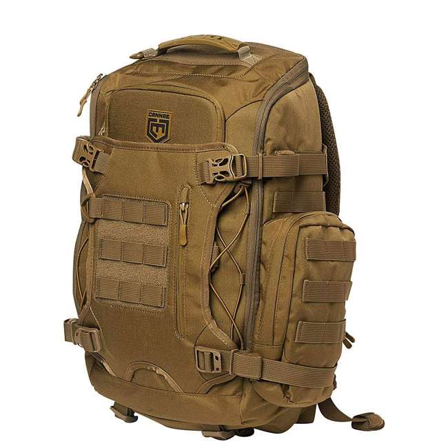 CPG-BP-LEGELT-M-C Cannae Pro Gear Nylon Medium 21L Elite Day Pack Backpack, Coyote