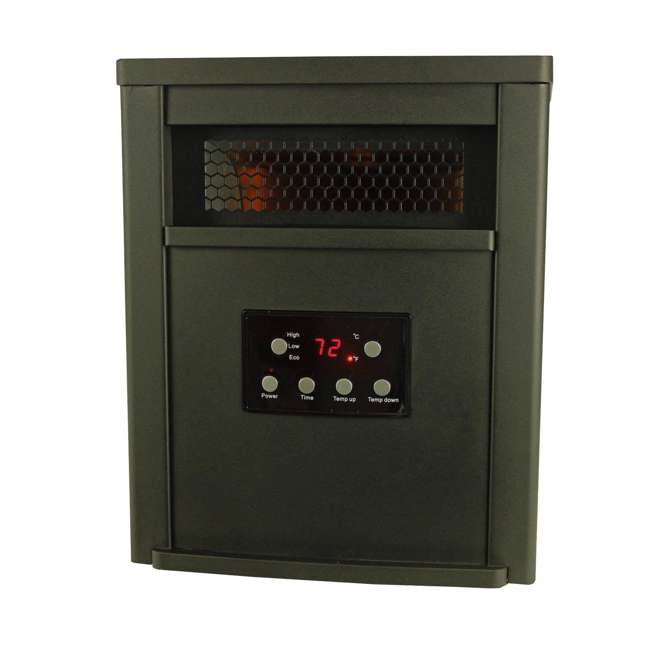 0 Lifesmart LifePro 1500-Watt Infrared Heater 2