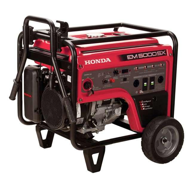 EM5000SXK3 Honda EM5000SXK3 5,000 Watt Portable Electric Commercial Engine Power Generator