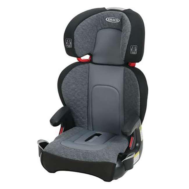 2035170-U-A Graco Highback TurboBooster Height Adjustable Car Seat, Denver (Open Box)