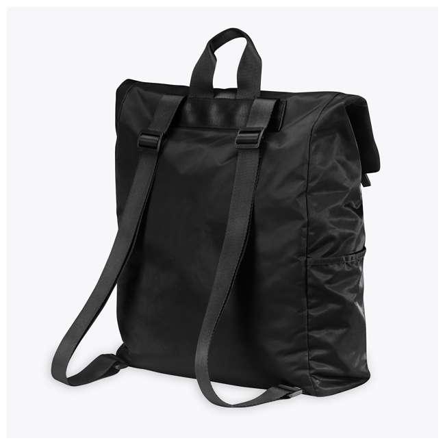 05-62695 Gaiam Yoga Mat Hold-Everything Backpack, Black 2