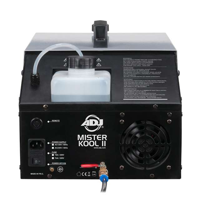 MISTER-KOOL-II American DJ Mister Kool II Water Based Fog Machine Chauvet DJ Hurricane Fog Machine Fluid, 1 Gallon 2
