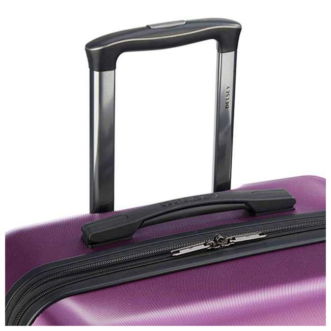 40386582008 DELSEY Paris Comete 2.0 24-Inch Expandable Spinner Upright Travel Bag, Purple 3