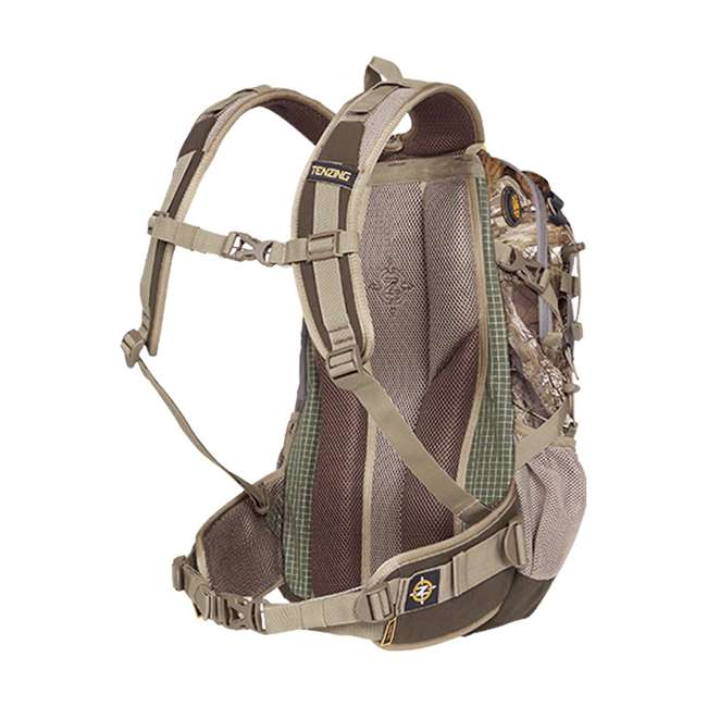 """TNZ-BP1001 Tenzing TZ 1500 """"The Choice"""" Day Pack for Archers & Bow Hunters, Realtree Camo 1"""