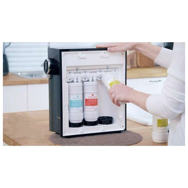 CP-MN031BK Cuckoo Direct Flow Kitchen Countertop Purifier Water System w/ 3 Filters, Black 4