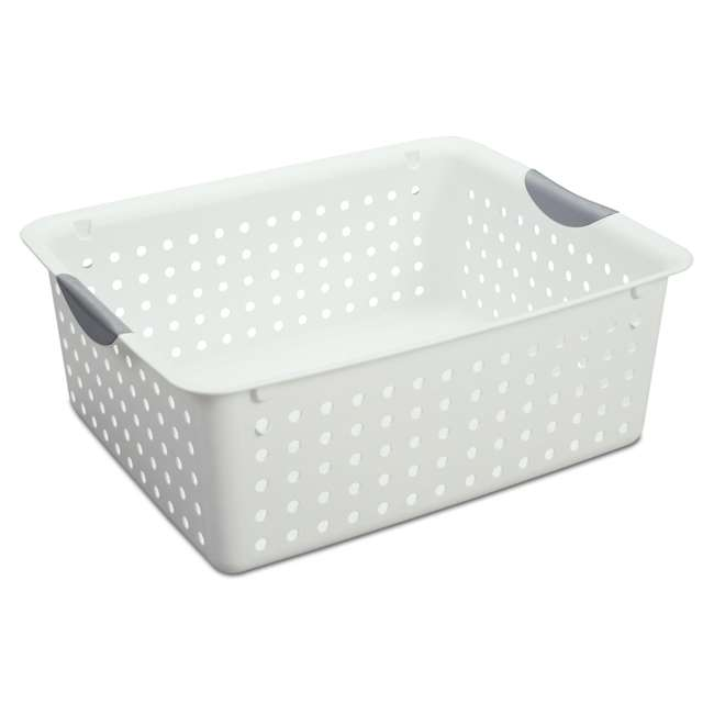 6 x 16288006 + 6 x 16268006 + 12 x 16228012 Sterilite Deep Ultra Storage Basket (6 Pack) + Large (6 Pack) + Small (12 Pack) 5