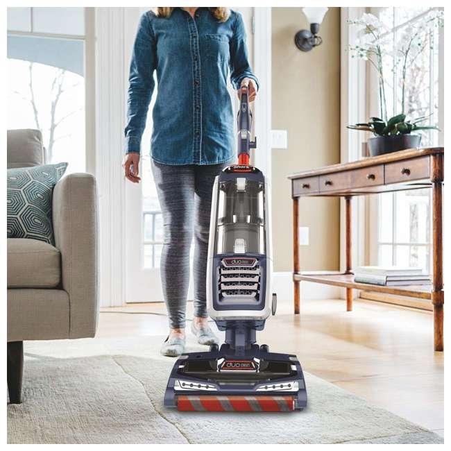 NV831_EGB-RB Shark NV831 DuoClean Lift Away Upright Vacuum, Red (Certified Refurbished) 3