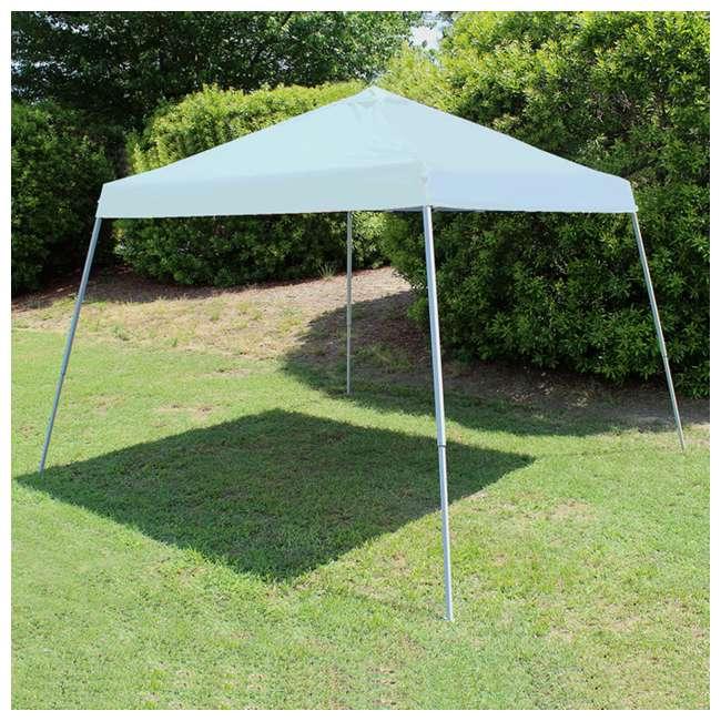 SLANT10-WH King Canopy 10 x 10-Foot 4 Leg Slanted Canopy, White 3