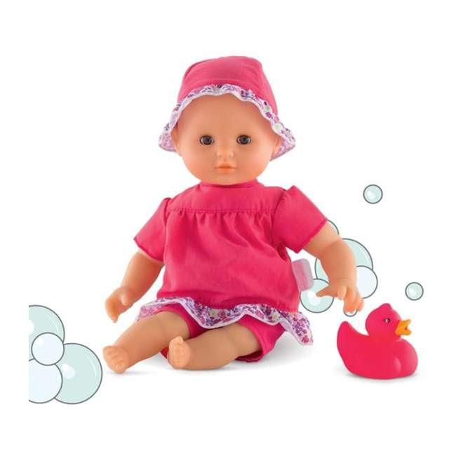 FRV09 + 100130 Corolle Mon Grand Poupon Toy Pediatrician Doctor Set w/ Waterproof Baby Doll 10