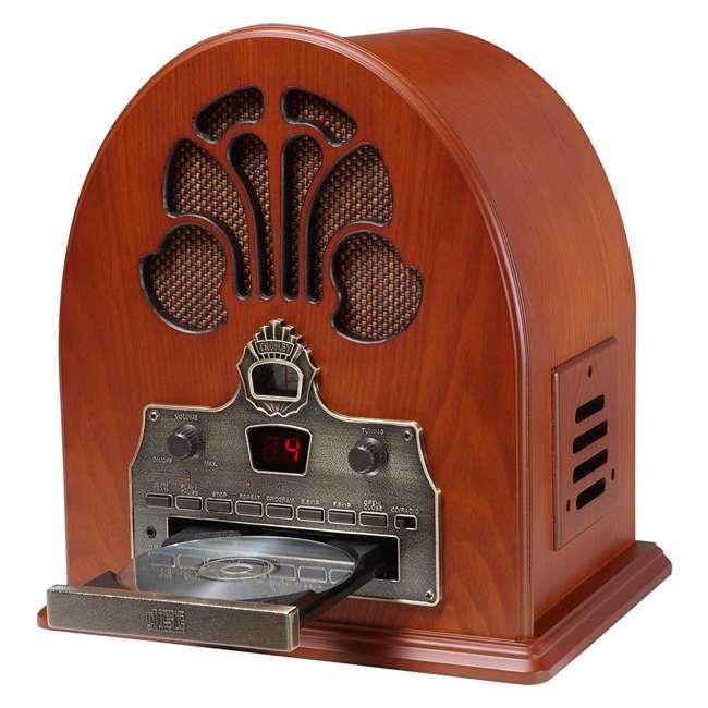 CR32CD Crosley Retro Cathedral AM/FM Radio CD Player 1