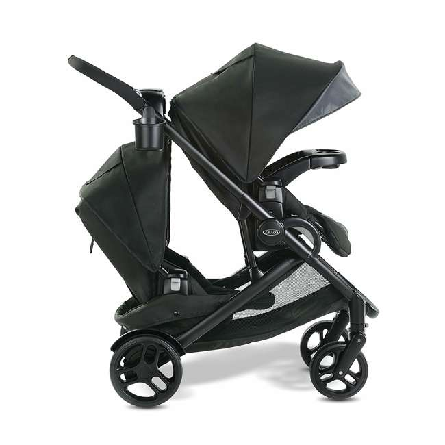 2083433 Graco Modes2Grow 4 in 1 Convertible Double Baby Toddler Stroller, Spencer Gray 1