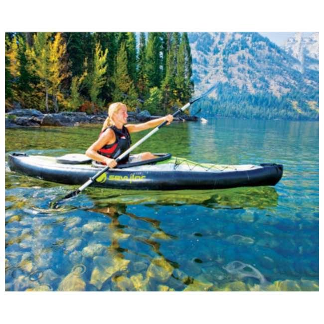 2000003419 Sevylor Pointer K1 Kayak - 1 Person Inflatable Kayak Canoe - 3419 2