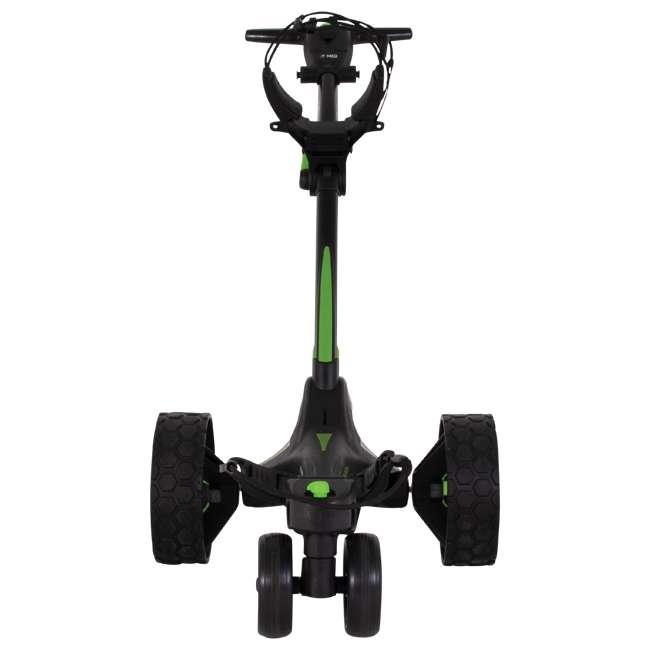US-ZIPX5B MGI Zip X5 Electric Golf Push Cart Swivel Wheel Caddie with Accessories, Black 3