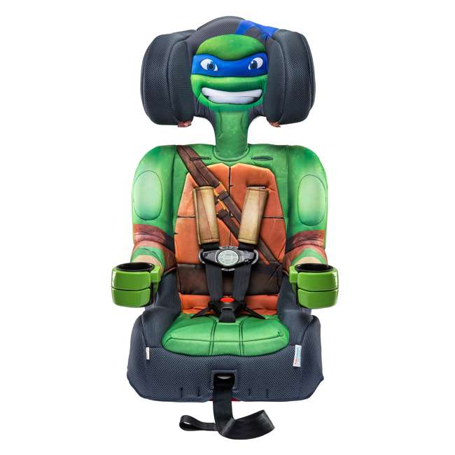 KE-65500LEO KidsEmbrace Teenage Mutant Ninja Turtles Leo Harness Booster Car Seat (2 Pack) 7