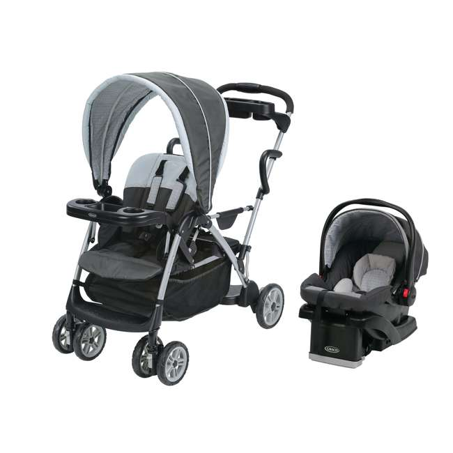 Graco Roomfor2 Dual Stand Amp Ride Stroller Amp Car Seat