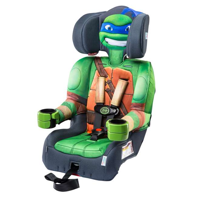KE-65500LEO KidsEmbrace Teenage Mutant Ninja Turtles Leo Harness Booster Car Seat (2 Pack) 3