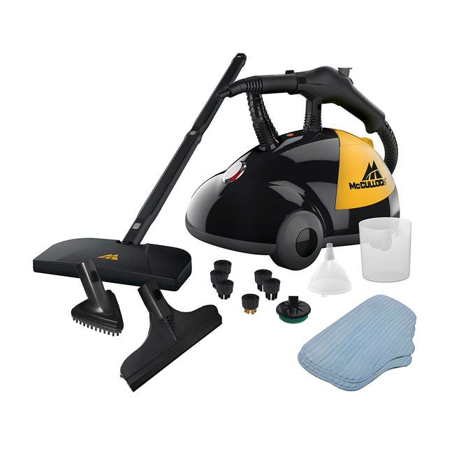 MC1275 + 69955B McCulloch Steam Cleaner & Arm & Hammer Pet Fresh Carpet Cleaner 1