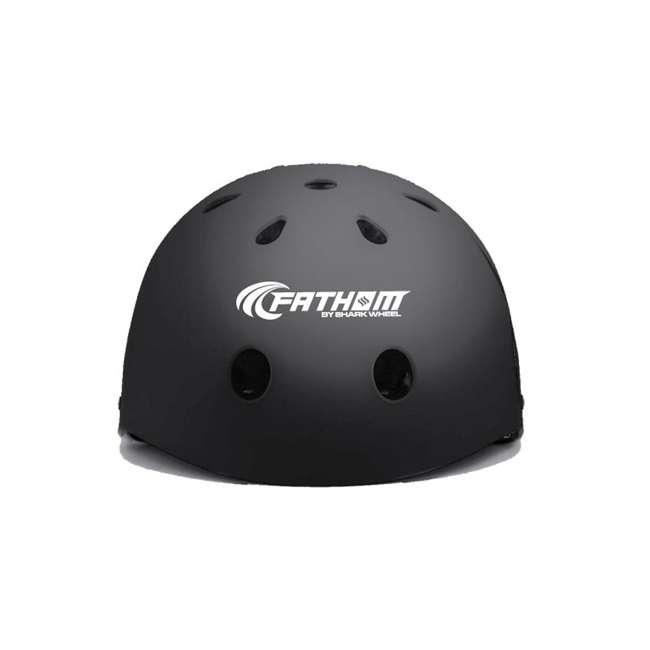8668 + 8486 Fathom 22-Inch Skateboard | Fathom ABS Large/Extra Large Skateboard Helmet 7