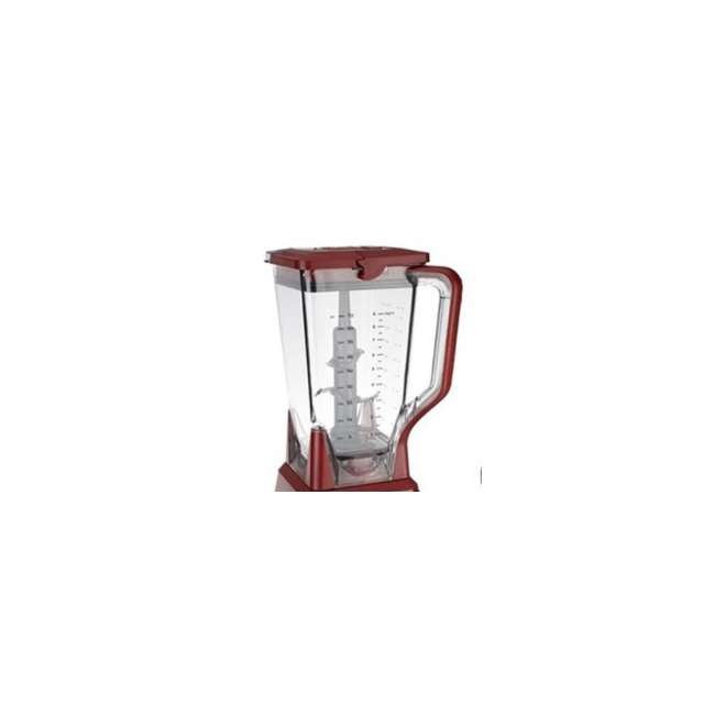 1000204729K-Pitcher-BL772QCN Ninja 72 oz Pitcher and Lid, Red 1000204729K (New Without Box)