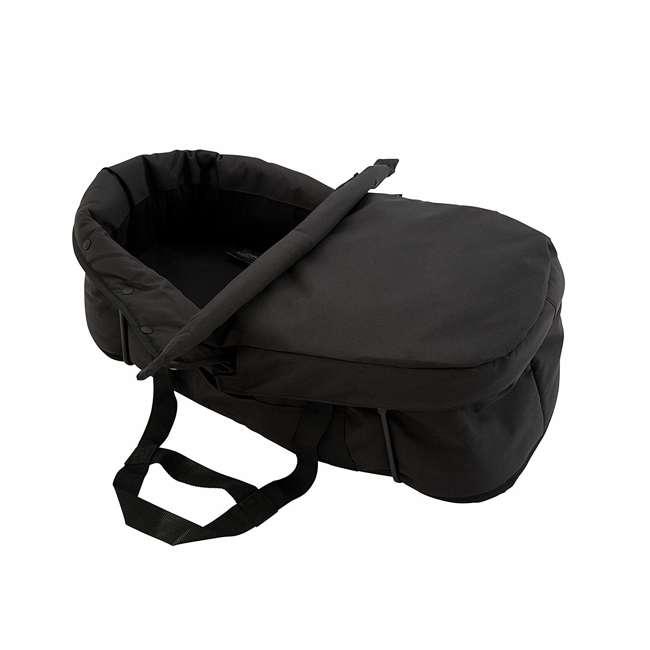 1959130 + 50926 Baby Jogger City Mini Compact Baby Travel Stroller + Pram Bassinet Kit 7