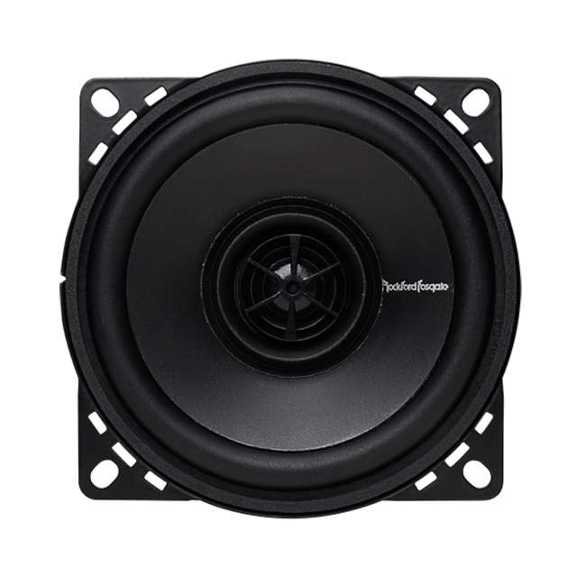 6 x R14X2 Rockford Fosgate R14X2 4-Inch 60W 2-Way Full Range Speakers (Pair) (6 Pack) 5