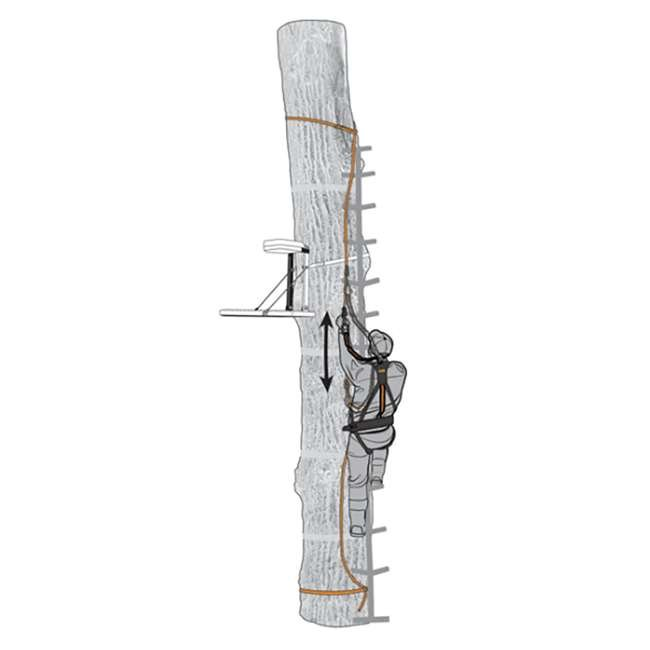 "MUD-MSA500-3 Muddy Safe-Line 30"" Durable Nylon Outdoor Hunting & Tree Stand System, 3 Pack 3"