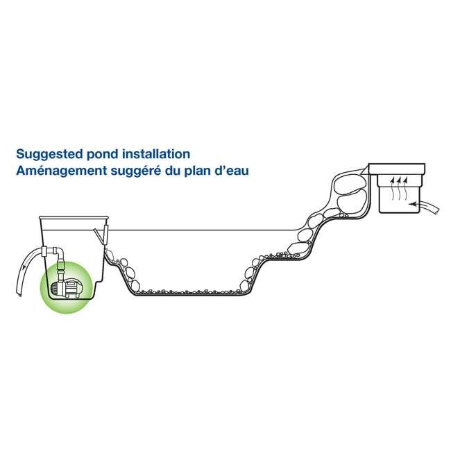 AQS-45010-OB Aquascape AquaSurge 4,000-8,000 Adjustable Flow Pond Pump (Open Box) 6