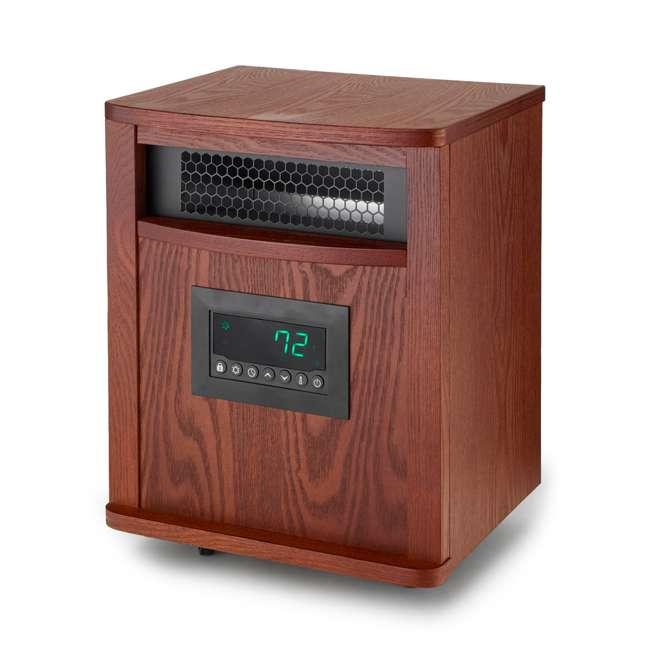 3 x LS-ZCHT1097US Lifesmart 6 Element 1500W Portable Infrared Quartz Mica Space Heater (3 Pack) 1