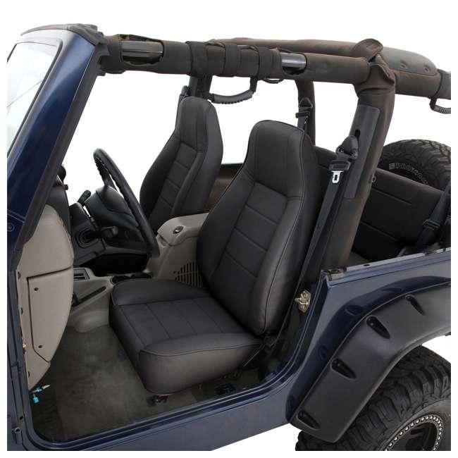 44915-SMITTYBILT Smittybilt Front Standard Bucket Seat, Black Denim 2