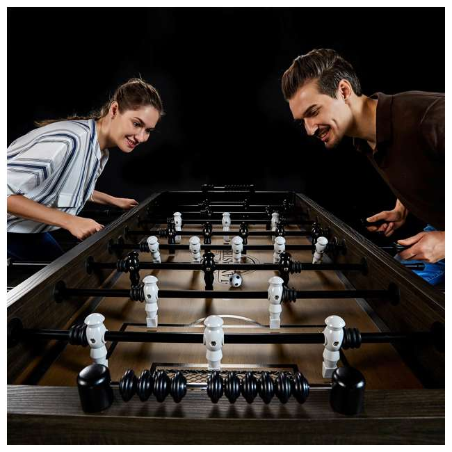 SOC056_188P Lancaster Gaming Company Loxley 56-Inch Traditional Soccer Foosball Table 7