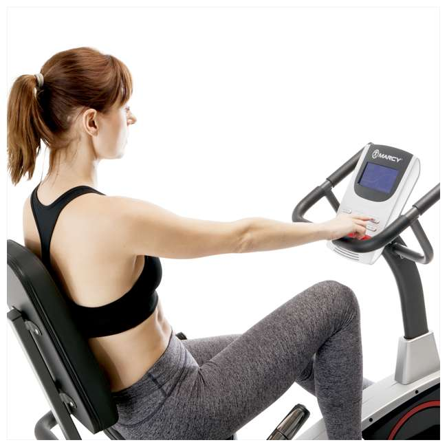 ME-706-U-C Marcy Regenerating Magnetic Recumbent Home Workout Exercise Bike (For Parts) 3