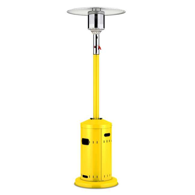 Enders Outdoor Commercial Propane Patio Heater Yellow