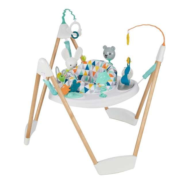 61912186 Evenflo 61912186 Exersaucer Woodland Wonder Baby Play Activity Center Jumper