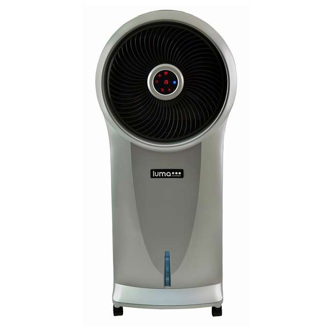 EC110S-U-C Luma 3 Speed Portable Comfort Evaporative Cooler, Silver (For Parts) (2 Pack) 3