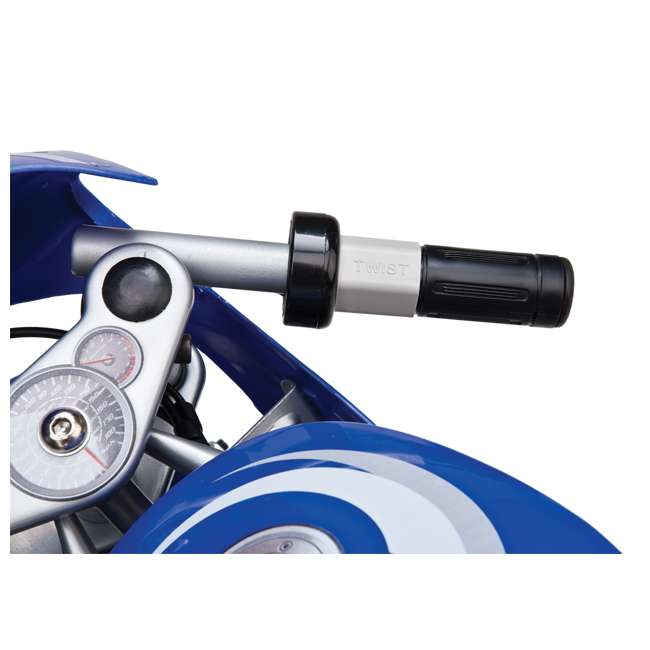 15120040 + 97775 + 96785 Razor Blue Pocket Rocket With Black Sport Helmet And Pad Set  5