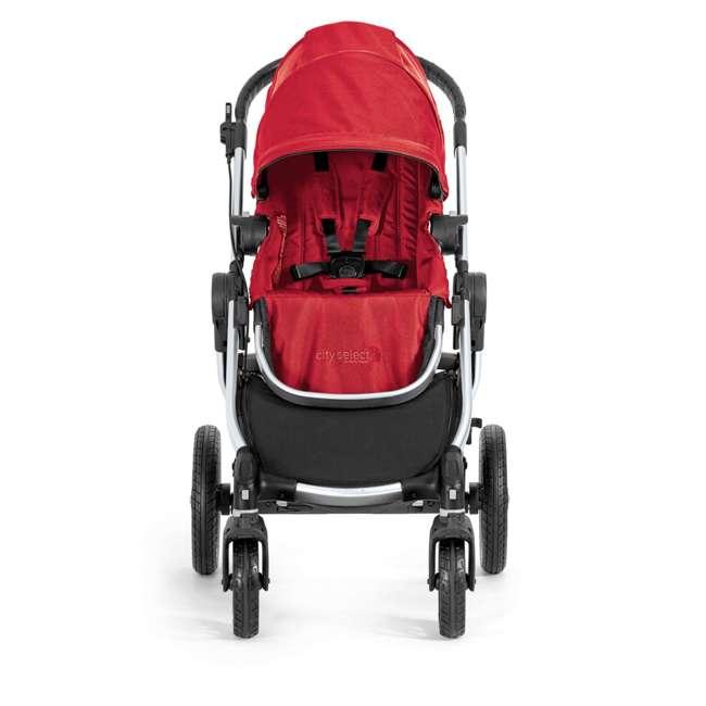 1959407 Baby Jogger City Select Folding Stroller, Ruby 1