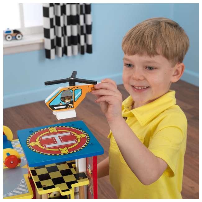 63267-U-A KidKraft Kids Mega Ramp Racing Set for Matchbox and Hotwheels Cars (Open Box) 1