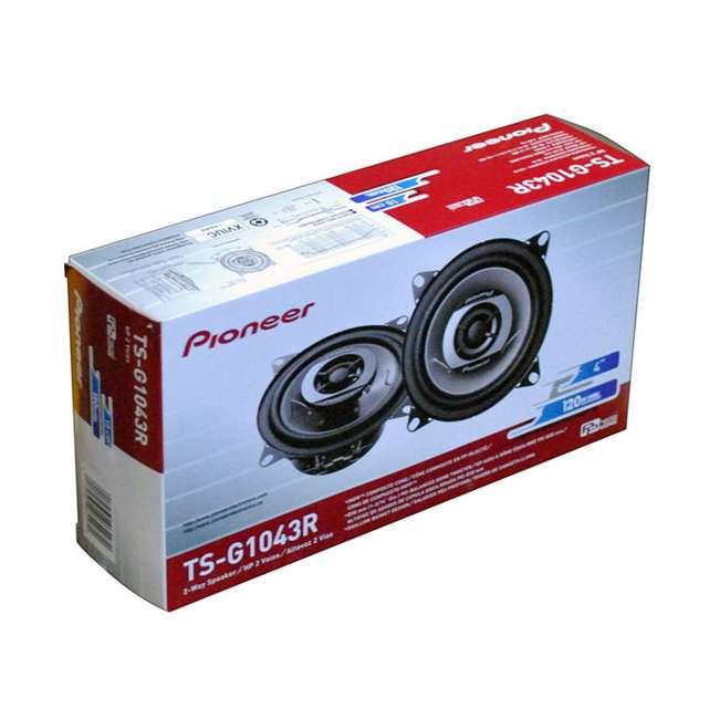 TSG1043R Pioneer TS-G1043R 4-Inch 240 Watt 2-Way Car Speakers
