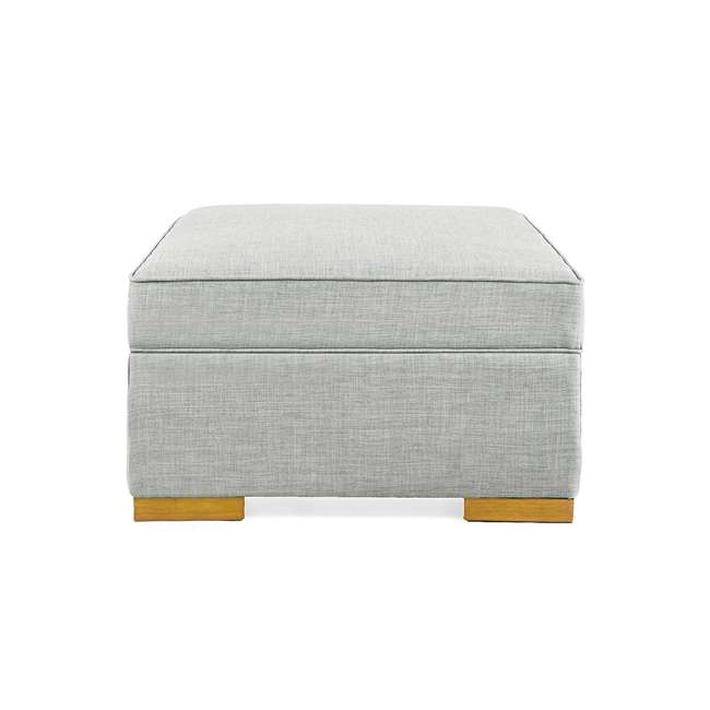 PC222-U-B SpaceMaster iBed Ottoman Fold Out Hideaway Guest Bed, Gray Fabric (Used) 2