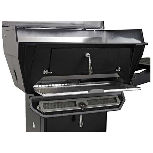 C3PK1 Broilmaster C3PK1 Independence Charcoal Grill Package with Base and Shelf, Black 2