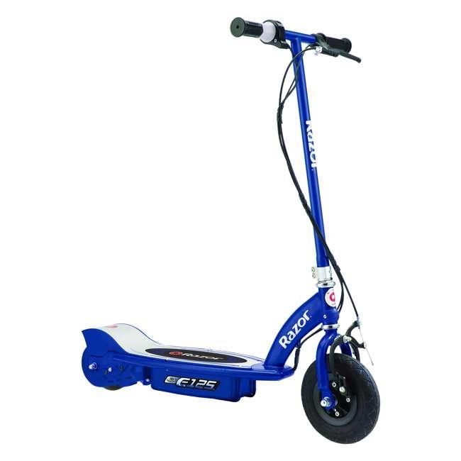 13111141 + 13111250 Razor E125 Motorized 24-Volt Rechargeable Electric ScooterRazor E100 Electric Scooter, Purple 1
