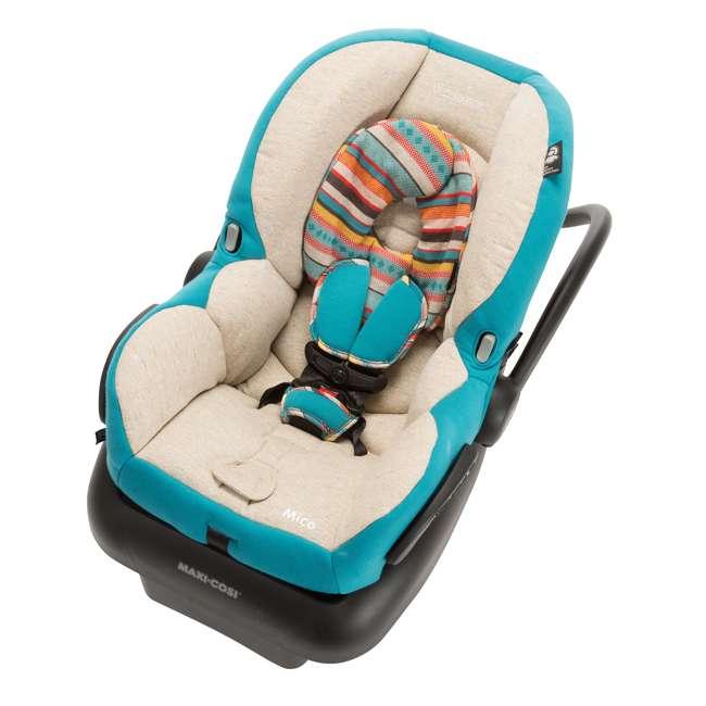 IC152CKN Maxi-Cosi Mico AP Infant Rear Facing Car Seat, Bohemian Blue 1