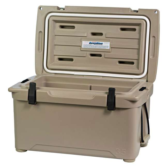 ENG35-T Engel 35 High-Performance Roto-Molded Cooler, Tan 1