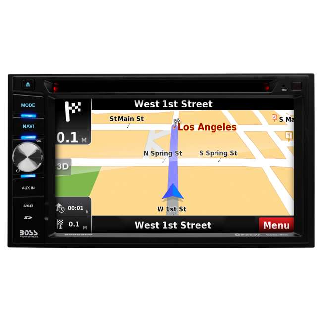 BN965BLC Boss Audio Systems 6.5-Inch Car Touchscreen Navigation 1