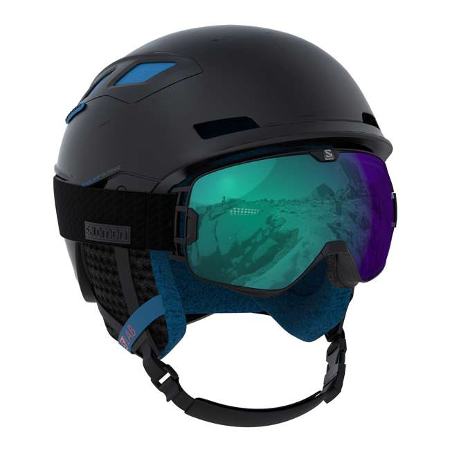 L39919856 Salomon MTN Lab Mens Black Alpine Skiing & Snowboarding Helmet, Small (53-56cm) 2