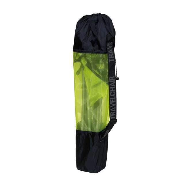 579VLM TravelChair 579V Teddy Folding Portable Camping Hunting Nylon Mesh Chair, Lime 1