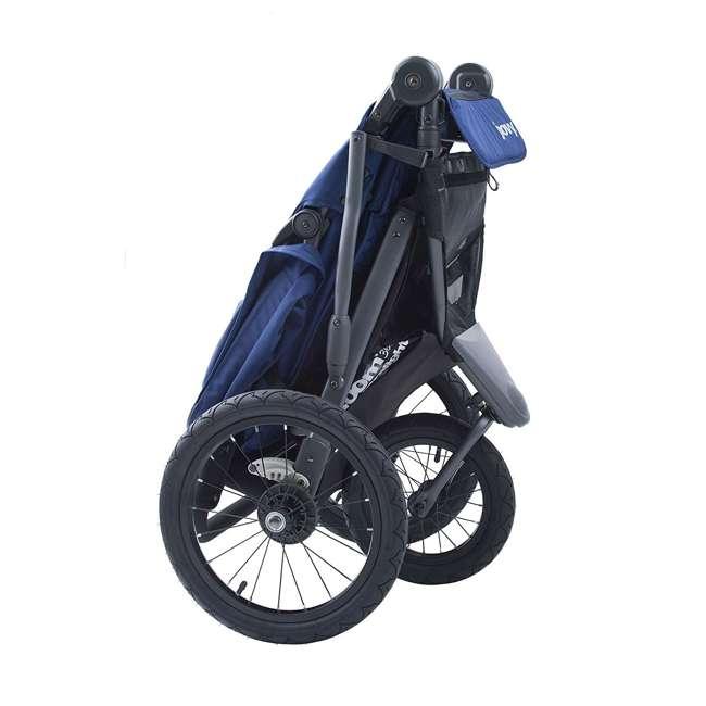 JVY-8060 Joovy 360 Zoom Ultralight Light Swivel Baby Stroller Jogger, Blue 1