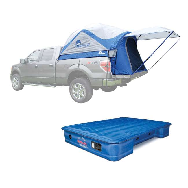 57011 + PPI 102 Napier Sportz 57 Series Truck Tent & AirBedz Air Mattress 1