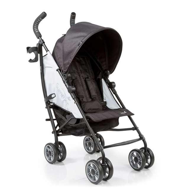 21853 Summer Infant 3Dflip Convenience Stroller, Double Take