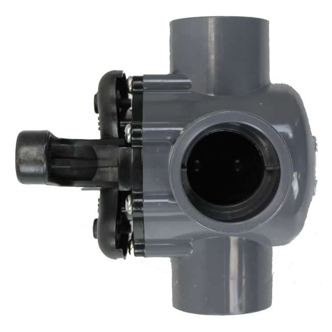 "3 x 263037-U-A Pentair 263037 1.5"" PVC 3-Way Pool Spa Water Diverter Valve (Open Box) (2 Pack) 2"